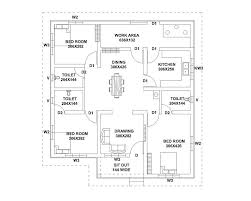 Kerala Style 3 Bedroom Single Floor House Plans 1187 Square Feet 3 Bedroom Single Floor Home Design And Plan