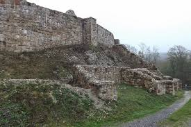 Old Castle Curtain Wall The Lost Fort October 2014