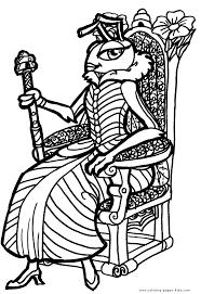 queens kings pincesses princes color coloring pages