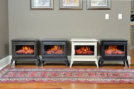 Comfort Flame Fireplace Comfort Smart Jackson Black Infrared Electric Fireplace Stove With
