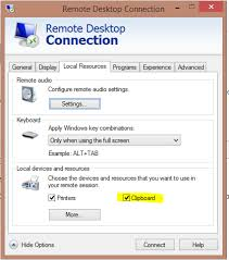 windows 7 bureau à distance rdp from windows 7 pro to windows 10 won t allow copy paste