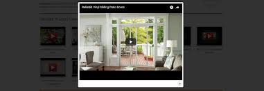Reliabilt Patio Doors Lowes Reliabilt Media Site