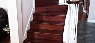 Installing Hardwood Flooring On Stairs Hardwood Stairs Dark Wood All Flooring Install