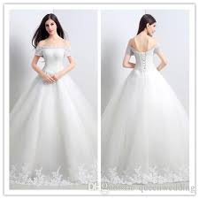 cheap bridal gowns 2015 wedding dresses boat neck gown cheap