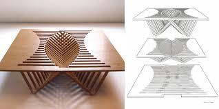 rising table di robert van embriqs designbuzz it