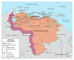Detailed Map Of Spain by Maps Of Venezuela Detailed Map Of Venezuela In English Tourist