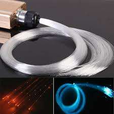 color change twinkle led fibre optic bundle for curtain light