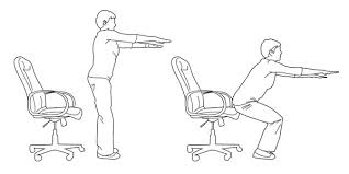 Desk Chair Workout 4 Amazingly Easy Office Exercises To Try Right Now Careers24