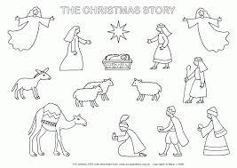 Nativity Free Coloring Pages Printable Kids Coloring Free Printable Nativity Coloring Pages