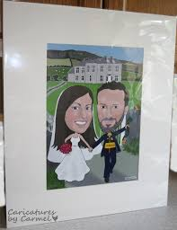 wedding signing board wedding caricature guest signing board and fr ted