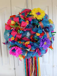 deco mesh ideas large deco mesh wreath san antonio decor