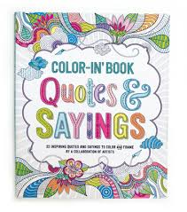 quotes and sayings color in u0027 book ooly
