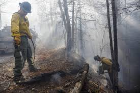 brings relief from wildfires times free press