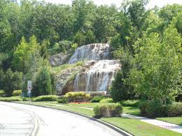 Kansas forest images Forest view fountain and waterfall hunting fountains in kansas city jpg