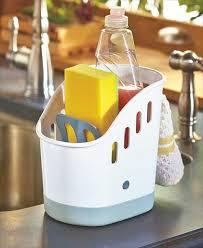 Kitchen Sink Caddy by Kitchen Sink Caddy Plastic Household Holder Organizer Includes 5