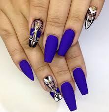 pin by larisa on nail art pinterest dark blue nails and blue nails
