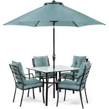umbrella base gray fast drying patio dining sets patio