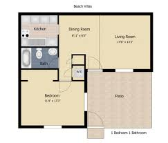 1 bedroom house floor plans villas jacksonville florida apartments apartments in 32246
