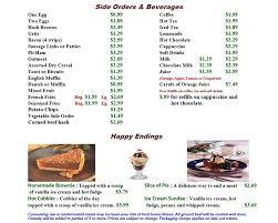 colors of orange menu skillet u0027s good cookin u0027