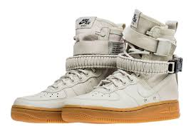Nike Light Nike Sf Af1 Light Bone Gum 857872 004 Release Date Sneakerfiles