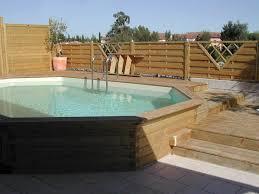 petite piscine enterree piscine hors sol semi enterrée piscine pinterest piscine