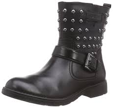 ladies biker style boots geox girls u0027 shoes boots chicago shop fashion style and easy