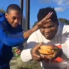 Big Mac Meme - this is how you eat a big mac nigga know your meme