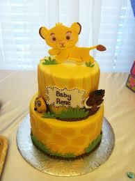 lion king baby shower lion king baby shower cake ideas 1000 ideas about lion king cakes