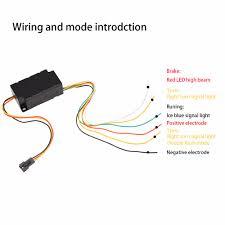 how to hook up led light strips in car led strip tail light bar car truck running brake reverse turn