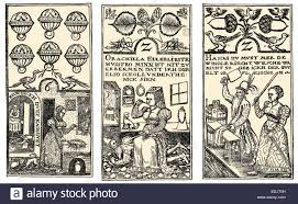 german cards 16th century stock photo royalty free image