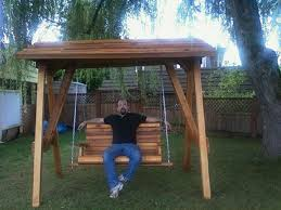 Swing Sets For Small Backyard by Best 25 Wood Swing Sets Ideas On Pinterest Outdoor Swing Sets