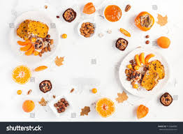 table served thanksgiving dinner autumn food stock photo 713464006