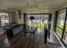 captivating floating kitchen island featuring rectangle shape