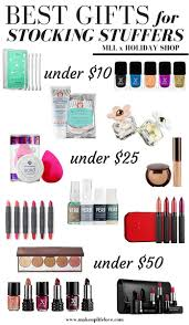gift guides stuffers makeup and