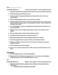 The Who Built America Worksheet The Who Built America Episode 4 Blood Is Spilled Andrew