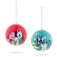 my pony ornament set thinkgeek