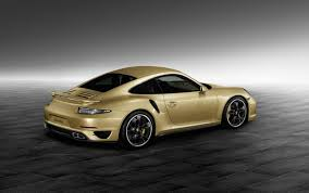 gold porsche 911 porsche 911 turbo gold 2 images bespoke 911 turbo unveiled by