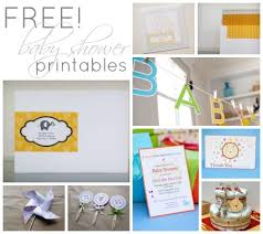 free printables 24 darling baby shower invitations more