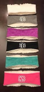 monogram headband vinyl monogram accessories pretty southern colors boutique