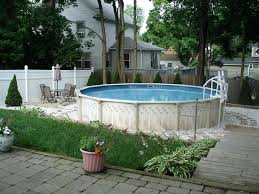 Above Ground Pool Landscaping Ideas Backyard Pool Landscape Ideas Guide Arizona Backyard Pool
