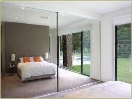 Mirrored Sliding Doors Closet Frameless Mirrored Sliding Closet Doors Closet Doors
