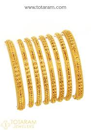 gold bracelet set images 22k gold bangles set of 8 4 pair 235 gbl1124 in 127 250 grams jpg