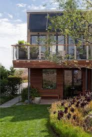 balcony railing planters exterior contemporary with glass doors