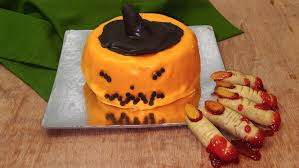 pumpkin cakes halloween pumpkin cake recipe cooker cake halloween special eggless