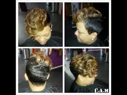 razor haircuts in atlanta ga short hair colette atlanta masterstylist youtube
