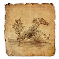 bal foyen treasure map wrothgar treasure map locations elder scrolls guides
