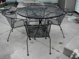 Patio Furniture Set Sale Wrought Iron Patio Furniture Sets Foter