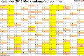 Kalender 2018 Mv Ferien Mecklenburg Vorpommern 2016 übersicht Der Ferientermine