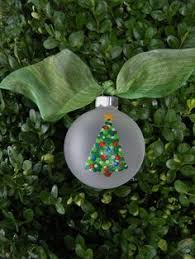 2 5 x 3 5 mini canvas tree ornament by threedoodlebugs