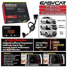 new easycar pedal box throttle controller for mitsubishi triton